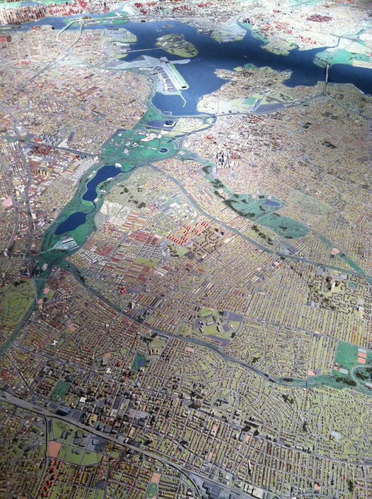 panoramic model of new york