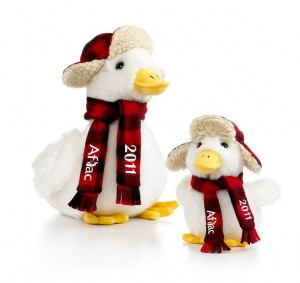 aflac duck at macys