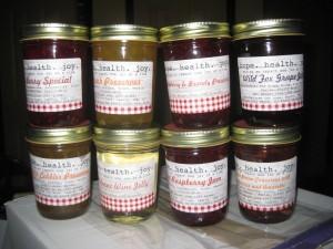 jellies and jam