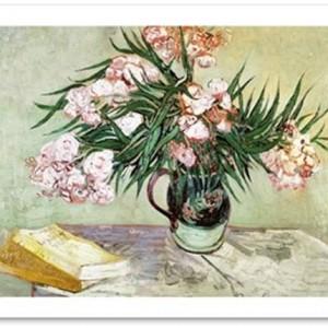 oleanders and books van gogh