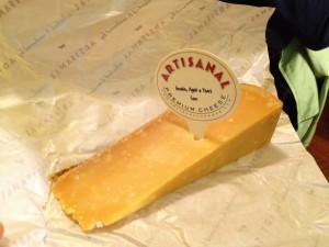 gouda cheese aged 4 years from netherlands