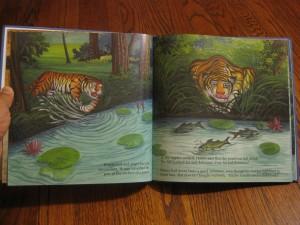 when honey the tiger flew children's book