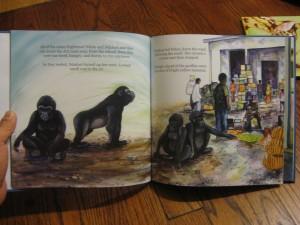 gorilla children's books