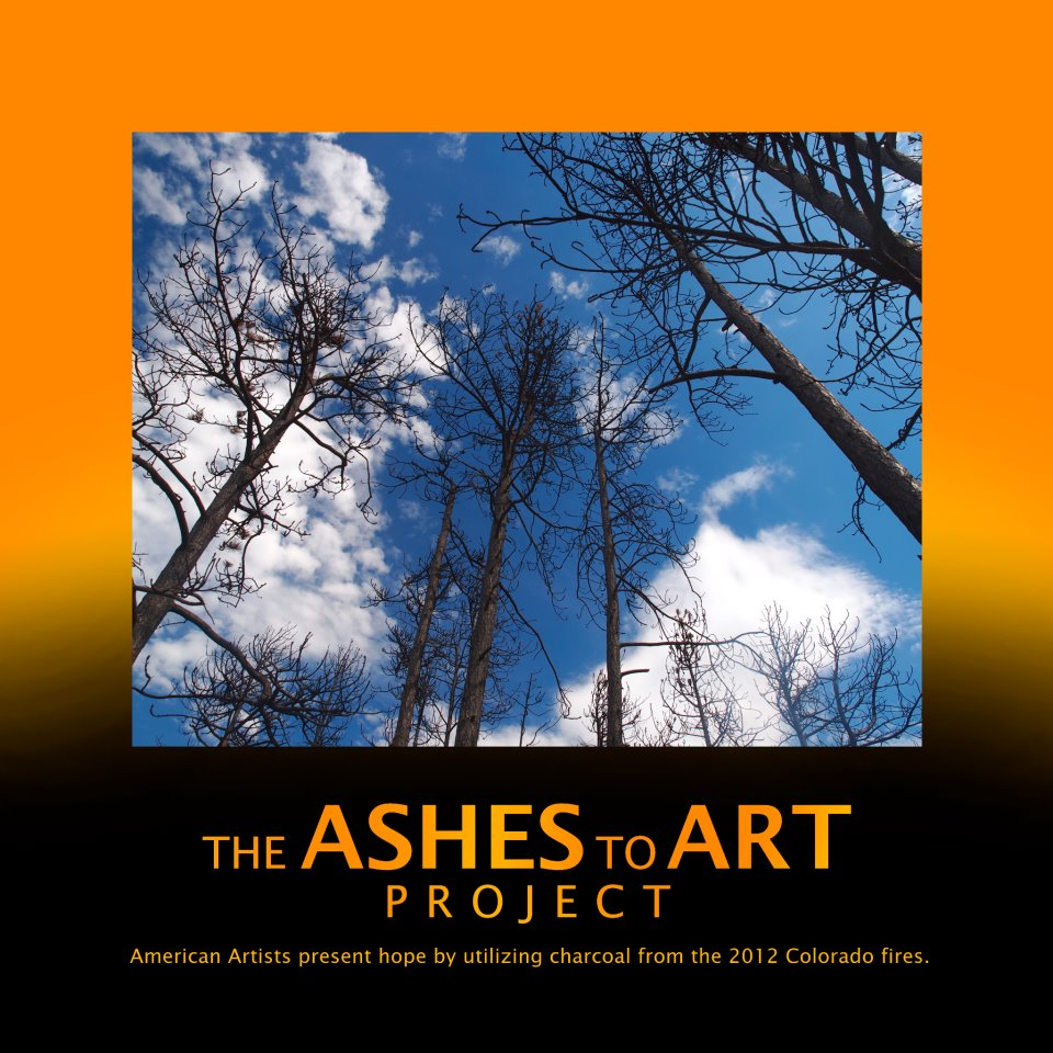 ashes to art project poster