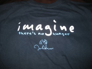imagine there's no hunger