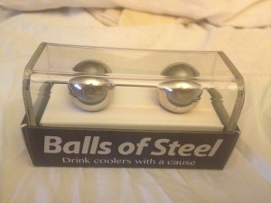 balls of steel in gift box