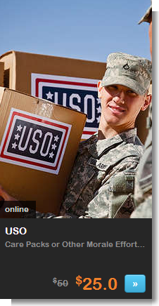 living social and USO