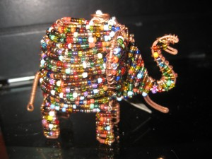 elephant christmas ornament